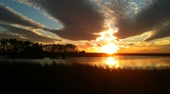 Blackwater NWR sunset 2
